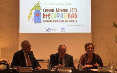 Presentació de la Cimera Mundial de Discapacitat, Emprenedoria, Tecnologia i Treball 2019