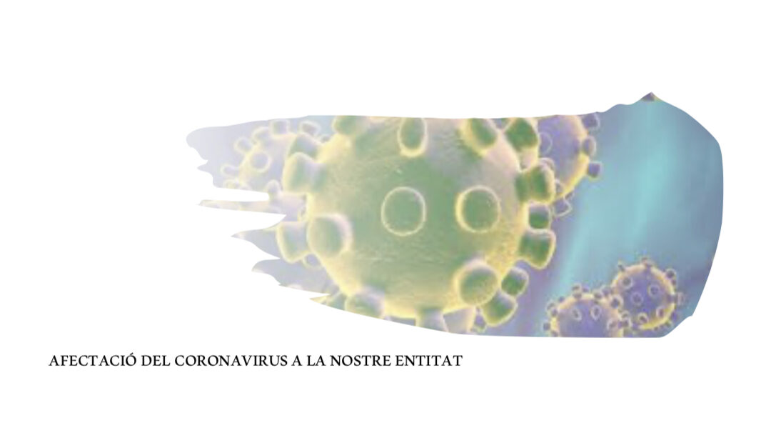 Comunicat sobre la situació relativa al coronavirus i vies d'atenció, davant les mesures de prevenció pel COVID-19
