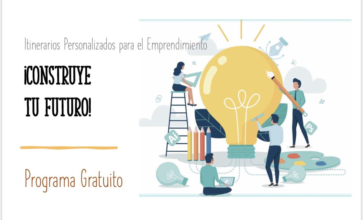 El próximo 30 de marzo ¡Construye tu futuro!