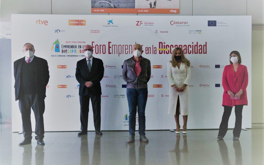 FORO INCYDE SCHOOL Barcelona 2020: Emprender en laDiscapacidad