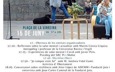 4ª JORNADA PARLEM OBERTAMENT SOBRE SALUD MENTAL Y LAS CONSECUENCIAS DE LA PANDEMIA
